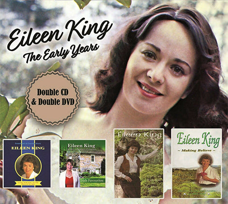 Eileen King The Early Years - Double CD & Double DVD