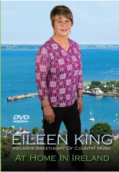 Eileen King At Home In Ireland   -  Brand New DVD