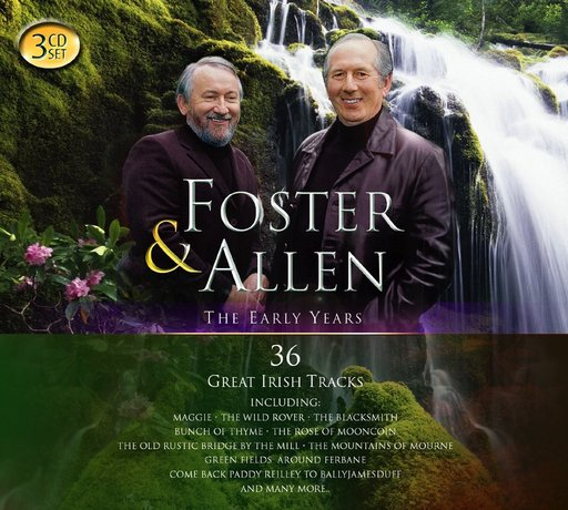 Foster & Allen The Early Years - 3 CD Set