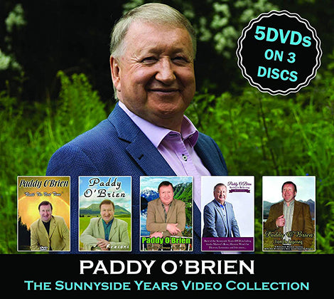 Paddy 'Brien  - 5 DVD's on 3 Discs  The Sunnyside Years Video  Collection