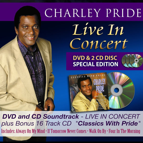 Charley Pride - Live In Concert