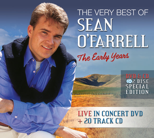 The Very Best of Sean O'Farrell The Early Years - DVD & CD