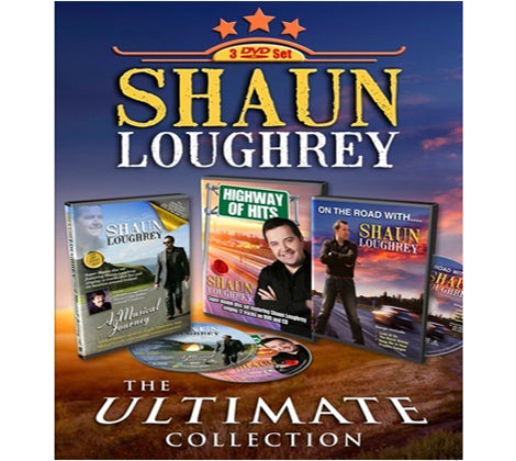 Shaun Loughrey  The Ultimate Collection  3 DVD Set