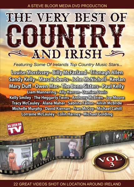 The Very Best of Country & Irish DVD  Vol 3