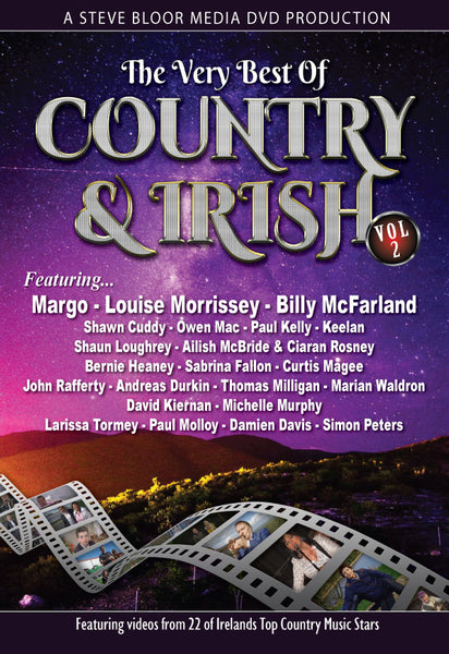 The Very Best of Country & Irish Vol 2 - A Steve Bloor Media DVD Production