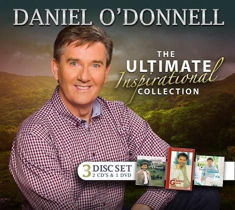 Daniel O'Donnell  The Ultimate Inspirational Collection 3 Disc Set 2CD's & DVD