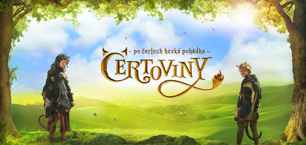 PURE DEVILRY ♥ Beautiful Czech Fairy-tale family movie on DVD !