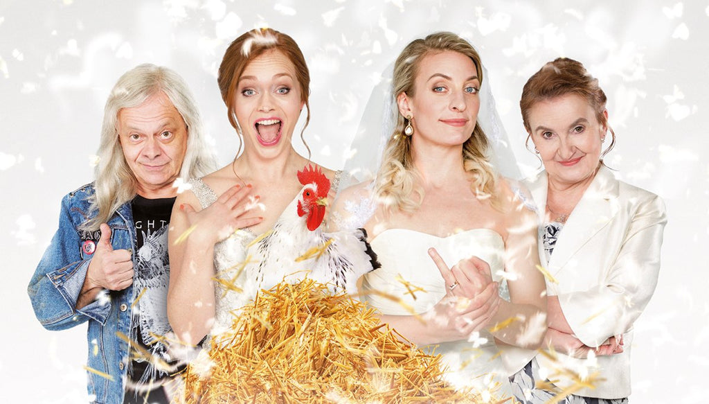 New comedy movie - Two brides and one wedding !