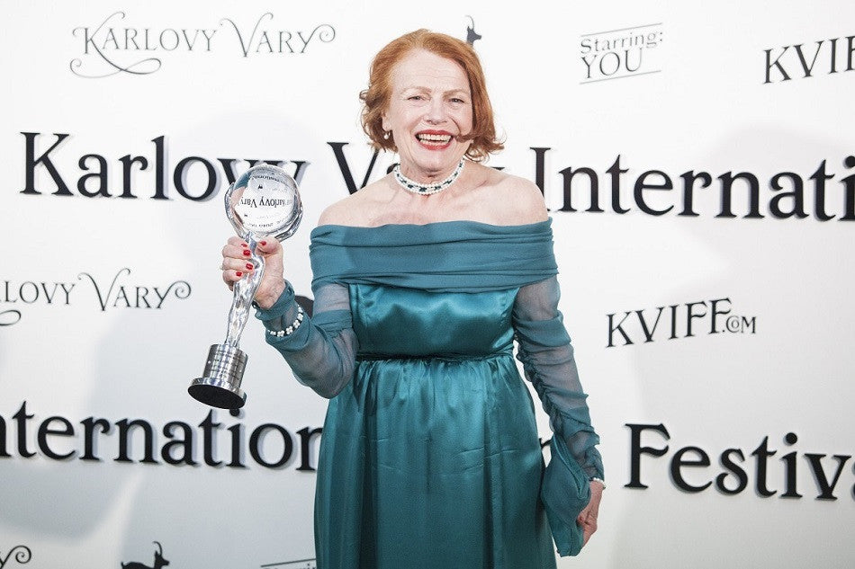 Iva Janzurova celebrates 76 years