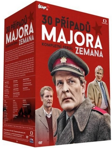 30 Cases of Major Zeman / 30 Pripadu Majora Zemana 30x DVD