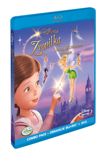 Zvonilka a velka zachranna vyprava BD+DVD (Combo Pack) / Tinker Bell and the Great Fairy Rescue Blu-ray +DVD (Combo Pack) - Czech version