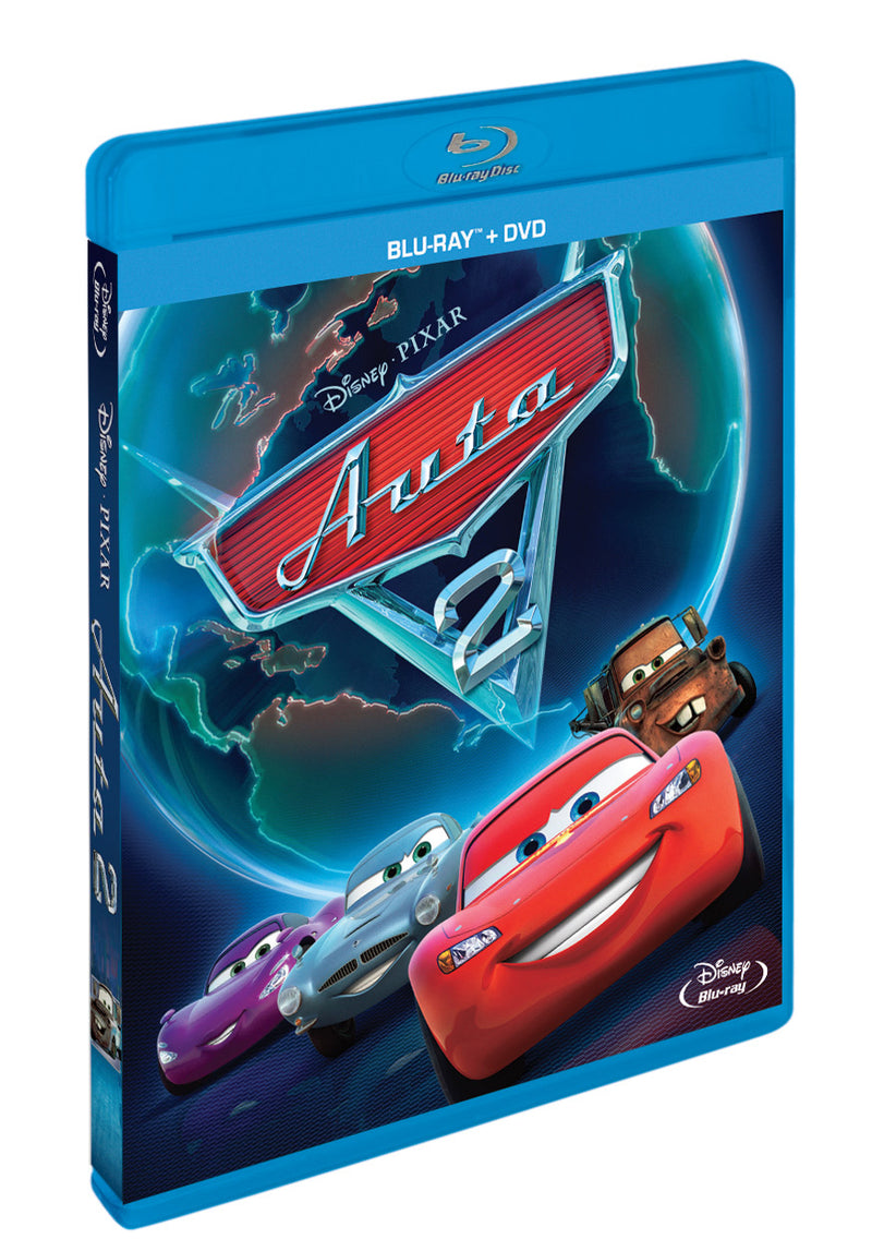Auta 2. BD+DVD (Combo Pack) / Cars 2 - Czech version