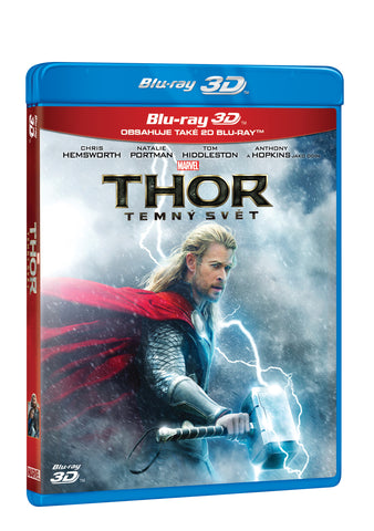 Thor: Temny svet 2BD (3D+2D) / Thor: The Dark World - Czech version