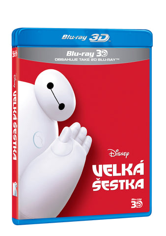 Velka sestka 2BD (3D+2D) / Big Hero 6 - Czech version