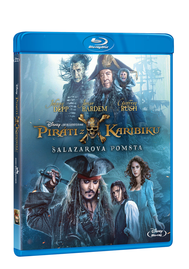 Pirati z Karibiku 5: Salazarova pomsta BD / Pirates of the Caribbean: Salazar´s Revenge - Czech version