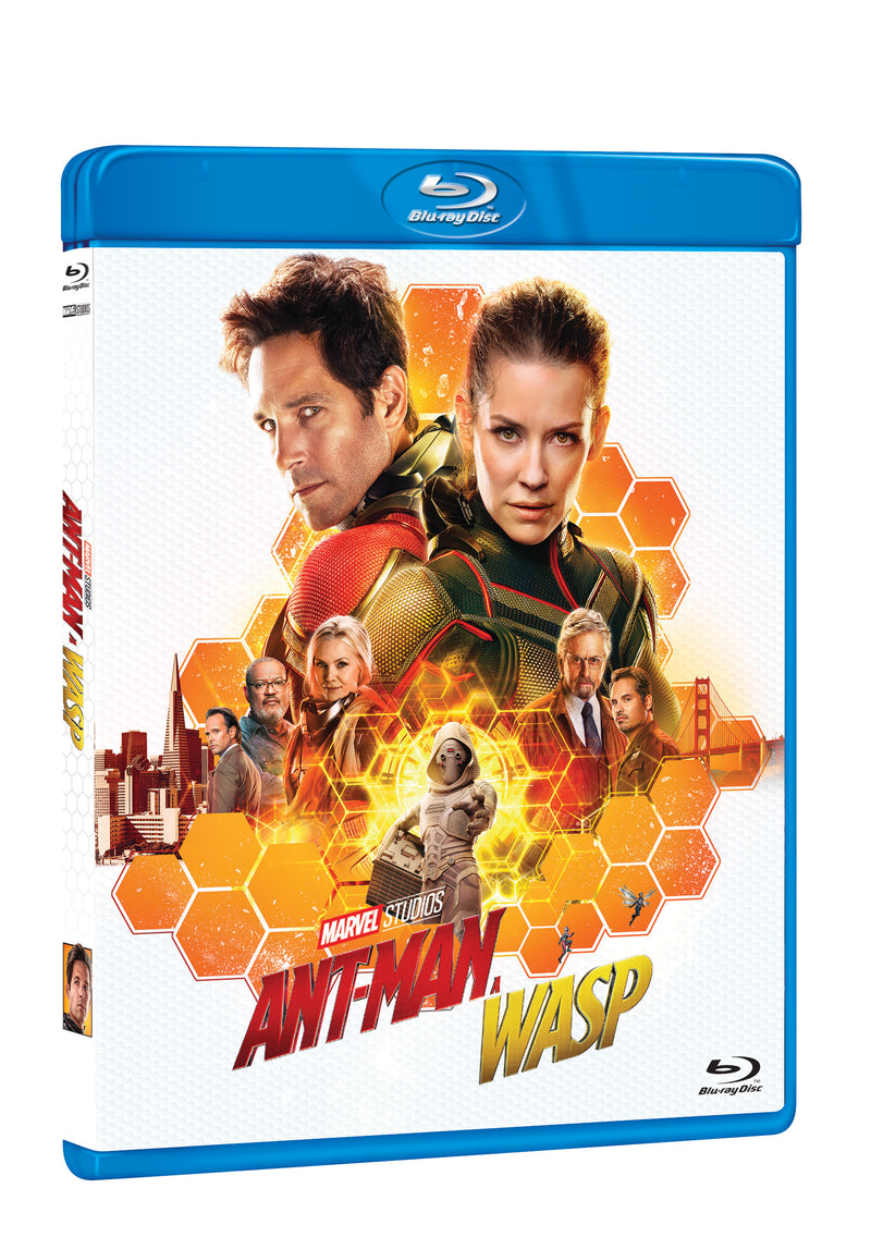 Ant-Man a Wasp BD / Ant-Man and the Wasp - Czech version