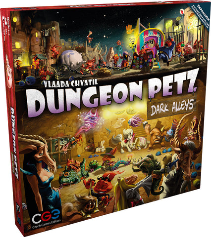Dungeon Petz: Dark Alleys / expansion