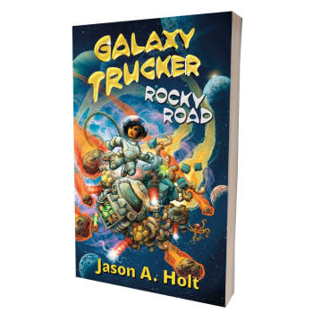 Galaxy Trucker: Rocky Road / book / novel