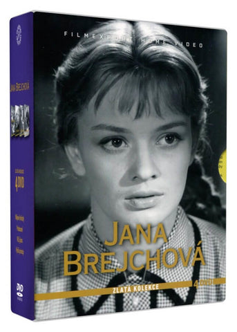 Jana Brejchova -Golden collection 4x DVD / Zlata kolekce 4x DVD