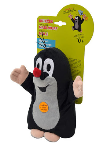 Krtecek mluvici manasek se zvukem - Little Mole Glove Puppet with sound