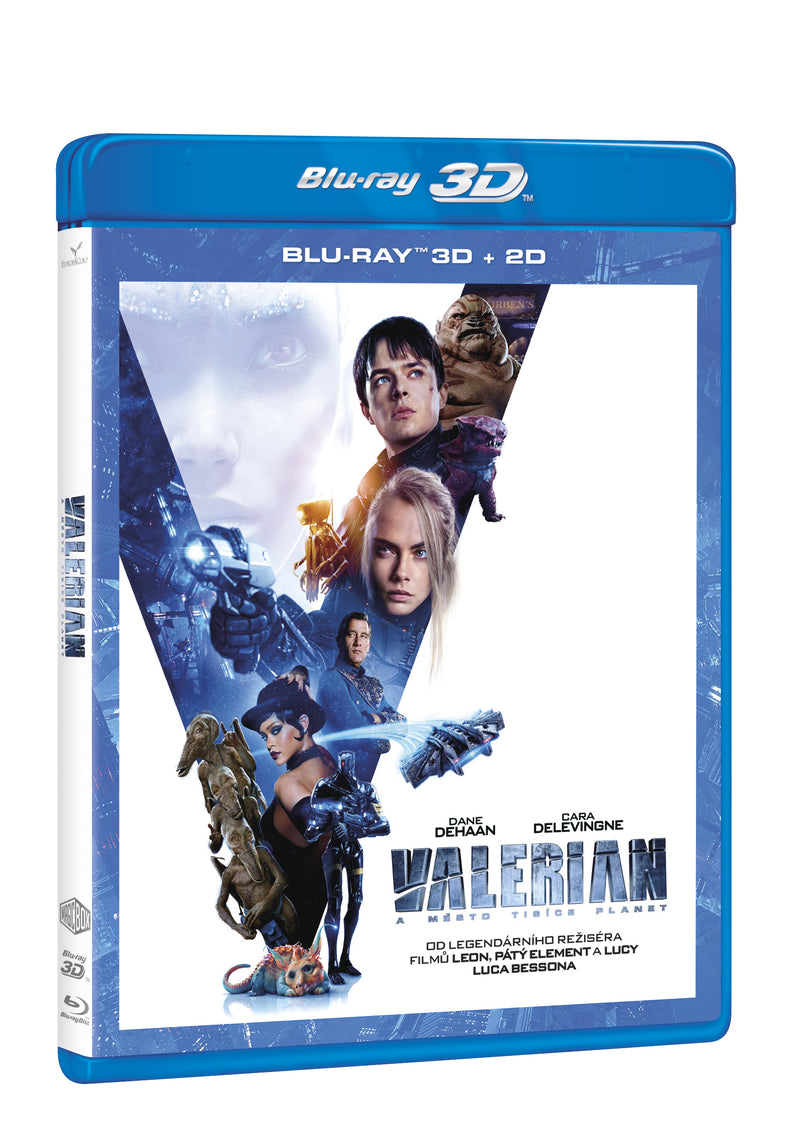 Valerian a mesto tisice planet 2BD (3D+2D) / Valerian and the City of a Thousand Planets - Czech version