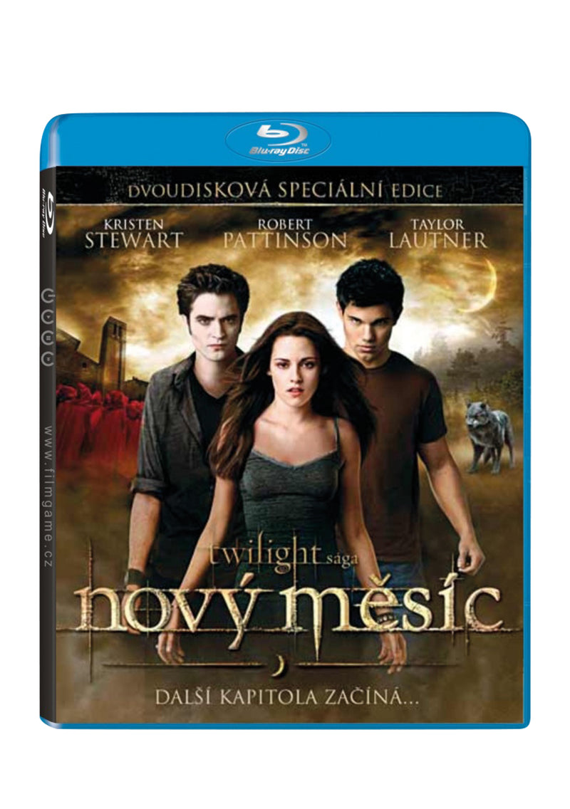 Twilight saga: Novy mesic BD (2disk) (Twilight Saga: New Moon)