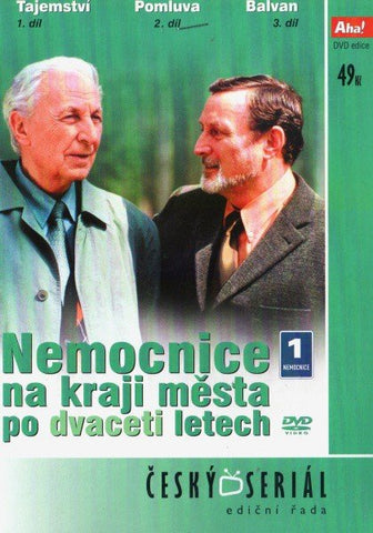 Hospital at the End of the City Twenty Years On/Nemocnice na kraji mesta po dvaceti letech 4x DVD
