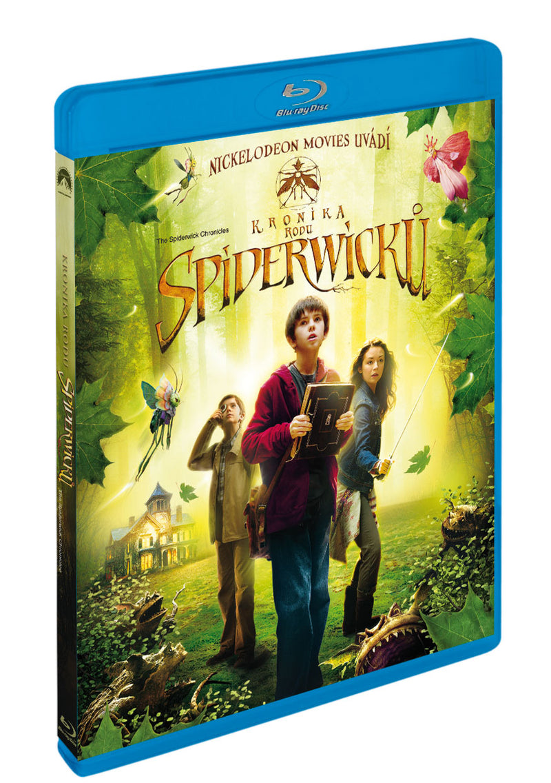 Kronika rodu Spiderwicku BD / Spiderwick Chronicles - Czech version