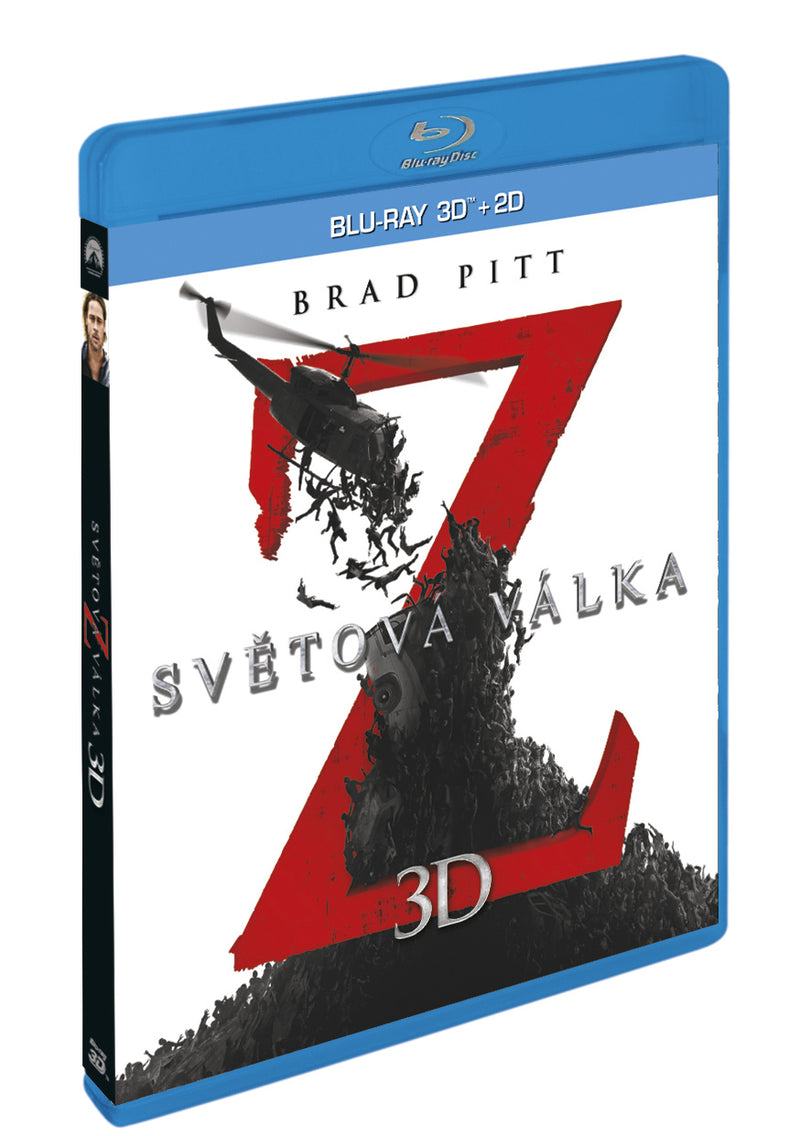 Svetova valka Z 2BD (3D+2D) / World War Z - Czech version