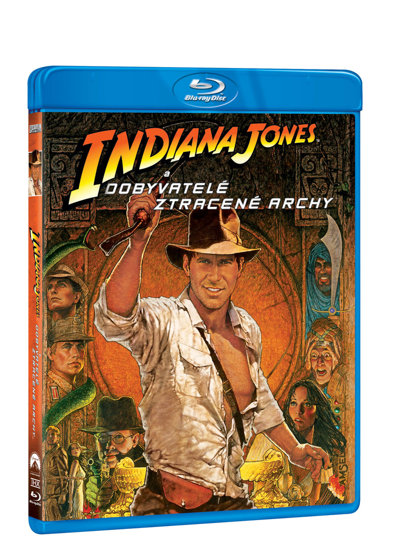 Indiana Jones a dobyvatele ztracene archy BD / Indiana Jones And The Raiders Of The Lost Ark - Czech version