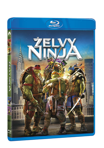 Zelvy Ninja BD / Teenage Mutant Ninja Turtles - Czech version