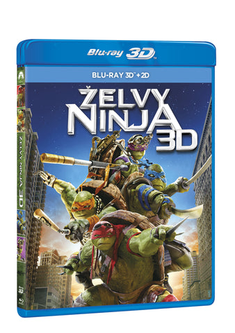 Zelvy Ninja 2BD (3D+2D) / Teenage Mutant Ninja Turtles - Czech version