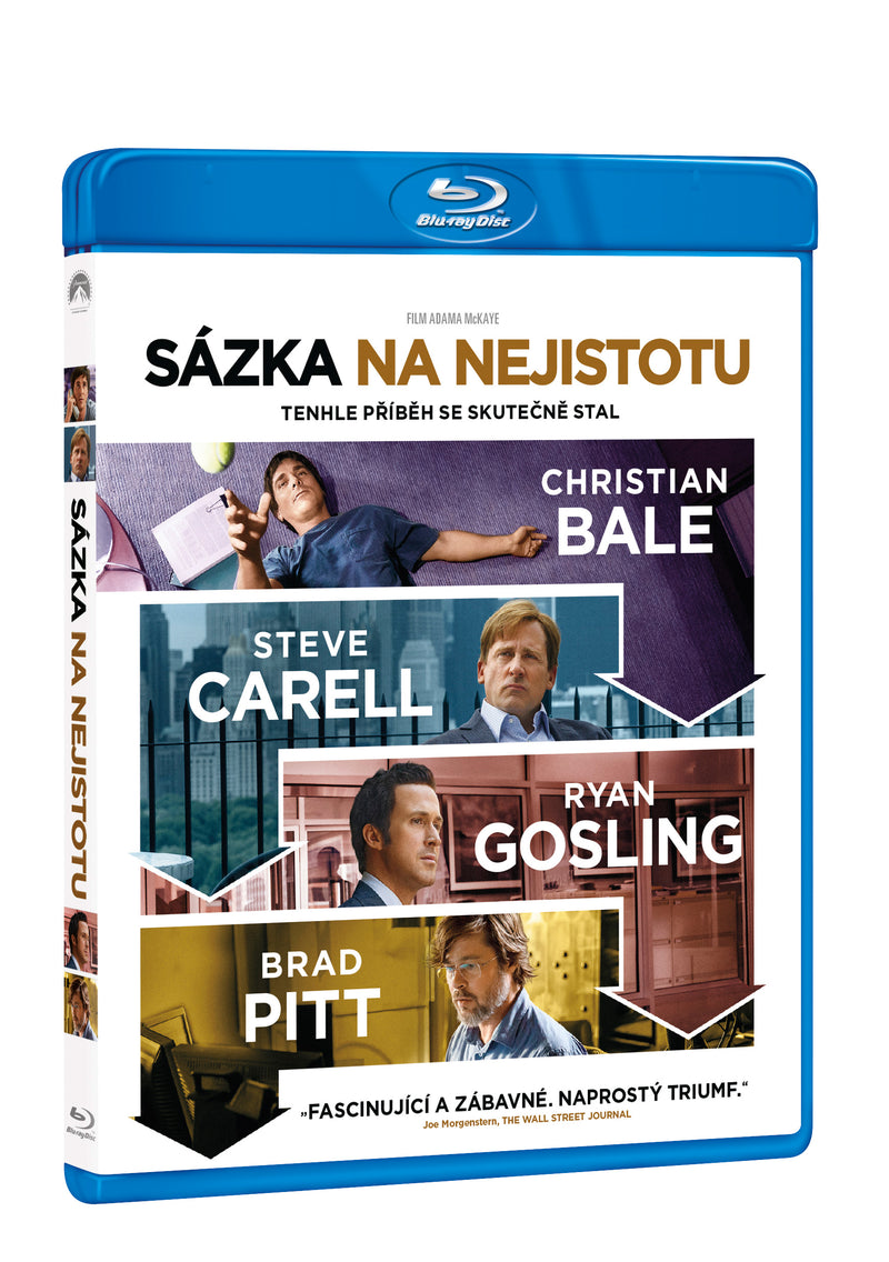 Sazka na nejistotu BD / The Big Short - Czech version