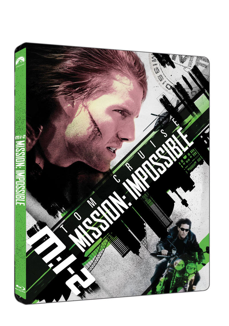 Mission: Impossible 2 2BD (UHD+BD) - steelbook / Mission: Impossible 2 - Czech version
