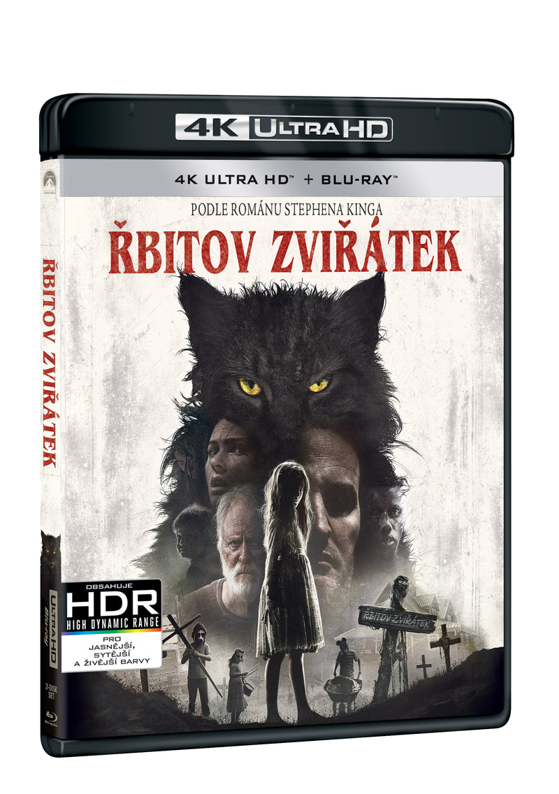 Rbitov zviratek 2BD (UHD+BD) / Pet Sematary - Czech version