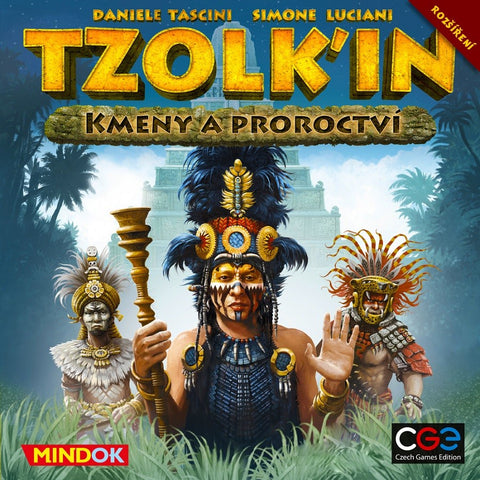 Tzolkin / Tzolk'in: Tribes & Prophecies / expansion