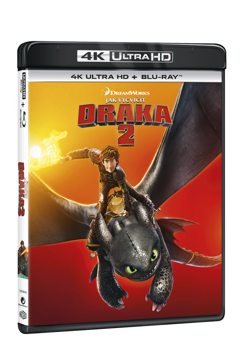 Jak vycvicit draka 2 2BD (UHD+BD) / How to Train Your Dragon 2 - Czech version