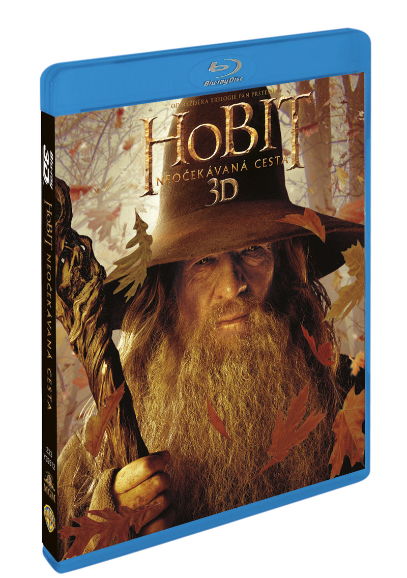 Hobit: Neocekavana cesta 4BD (3D+2D+bonus disk) / The Hobbit: An Unexpected Journey 3D - Czech version