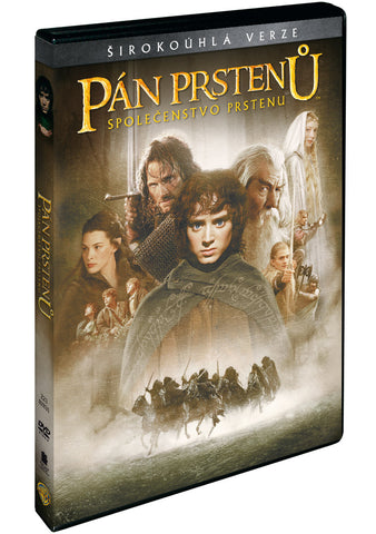 Pan prstenu: Spolecenstvo prstenu DVD / The Lord of the Rings: The Fellowship of the Ring