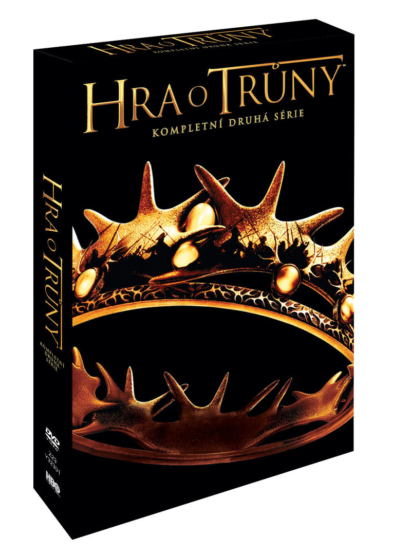 Hra o truny 2. serie 5DVD (VIVA baleni) / Game of Thrones Season 2.