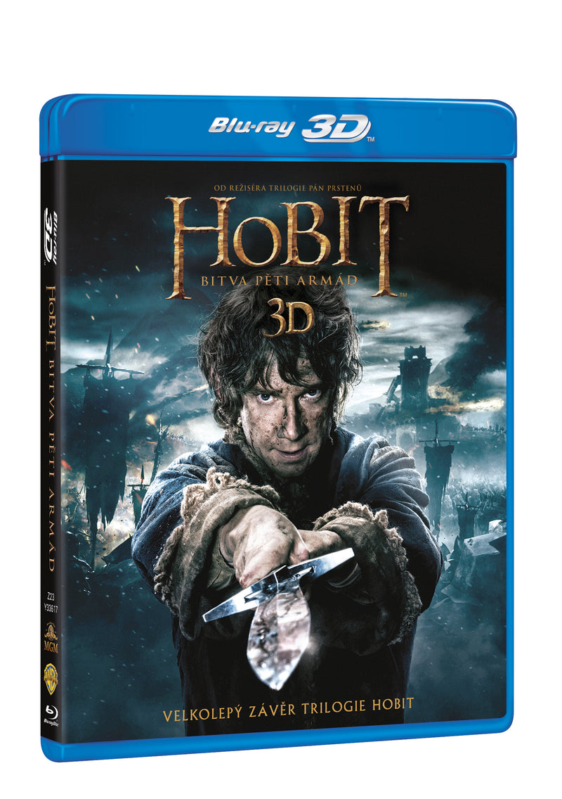 Hobit: Bitva peti armad 4BD (3D+2D) / The Hobbit: The Battle of the Five Armies - Czech version
