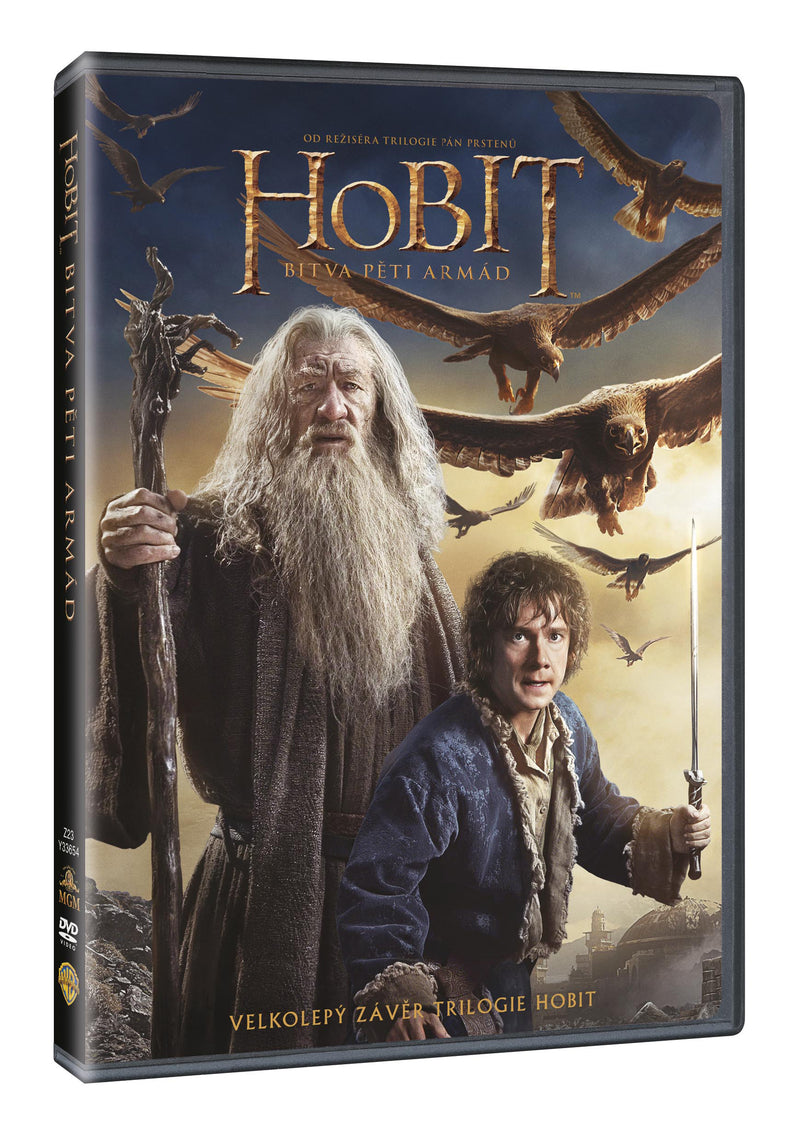 Hobit: Bitva peti armad DVD / The Hobbit: The Battle of the Five Armies