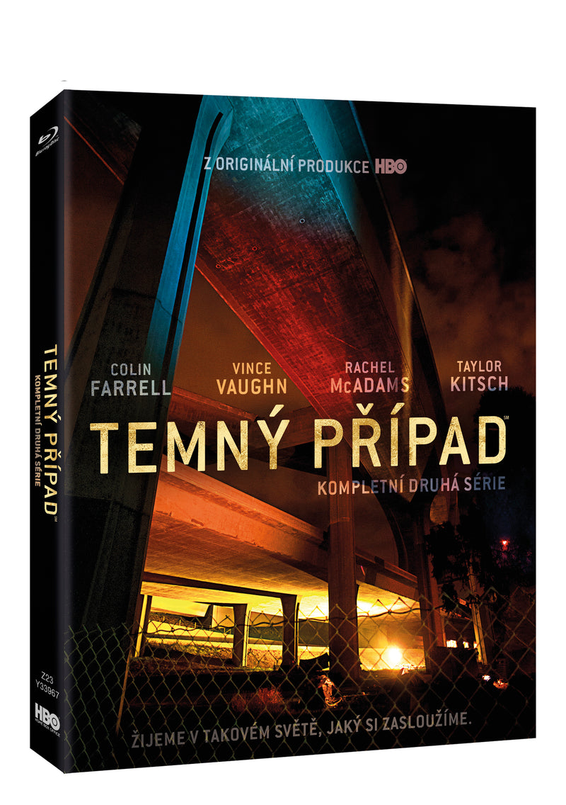 Temny pripad 2.serie 3BD / True Detective Season 2 3BD - Czech version