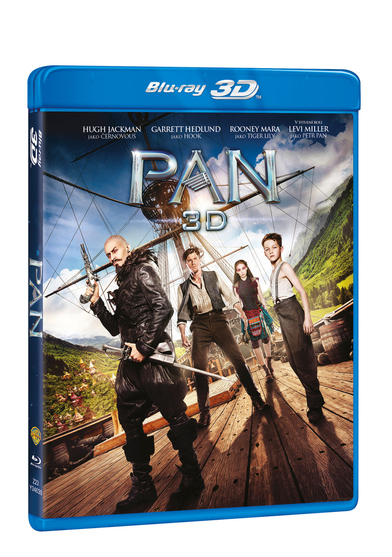 Pan 2BD (3D+2D) / Pan - Czech version