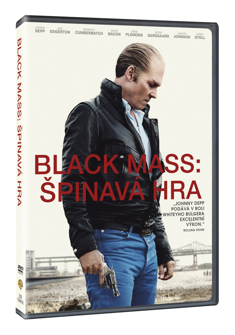 Black Mass: Spinava hra DVD / Black Mass