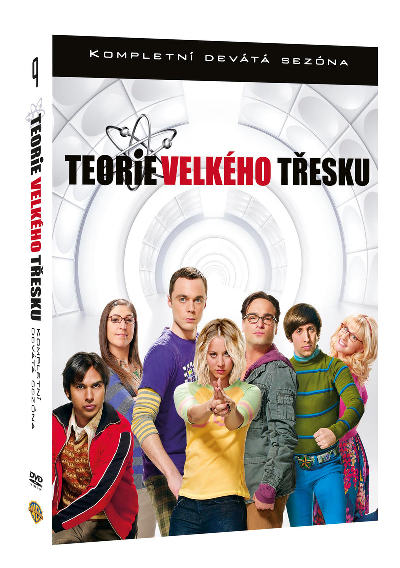 Teorie velkeho tresku 9.serie 3DVD / Big Bang Theory Season 9