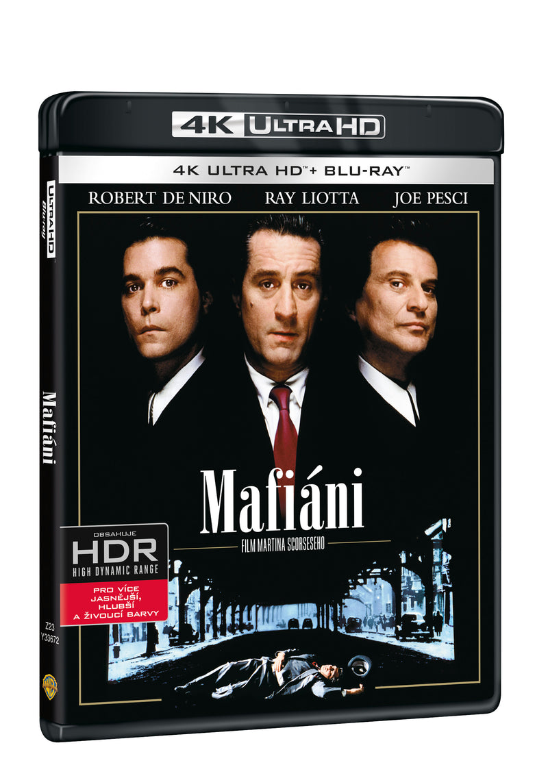 Mafiani 2BD (UHD+BD) / Goodfellas - Czech version