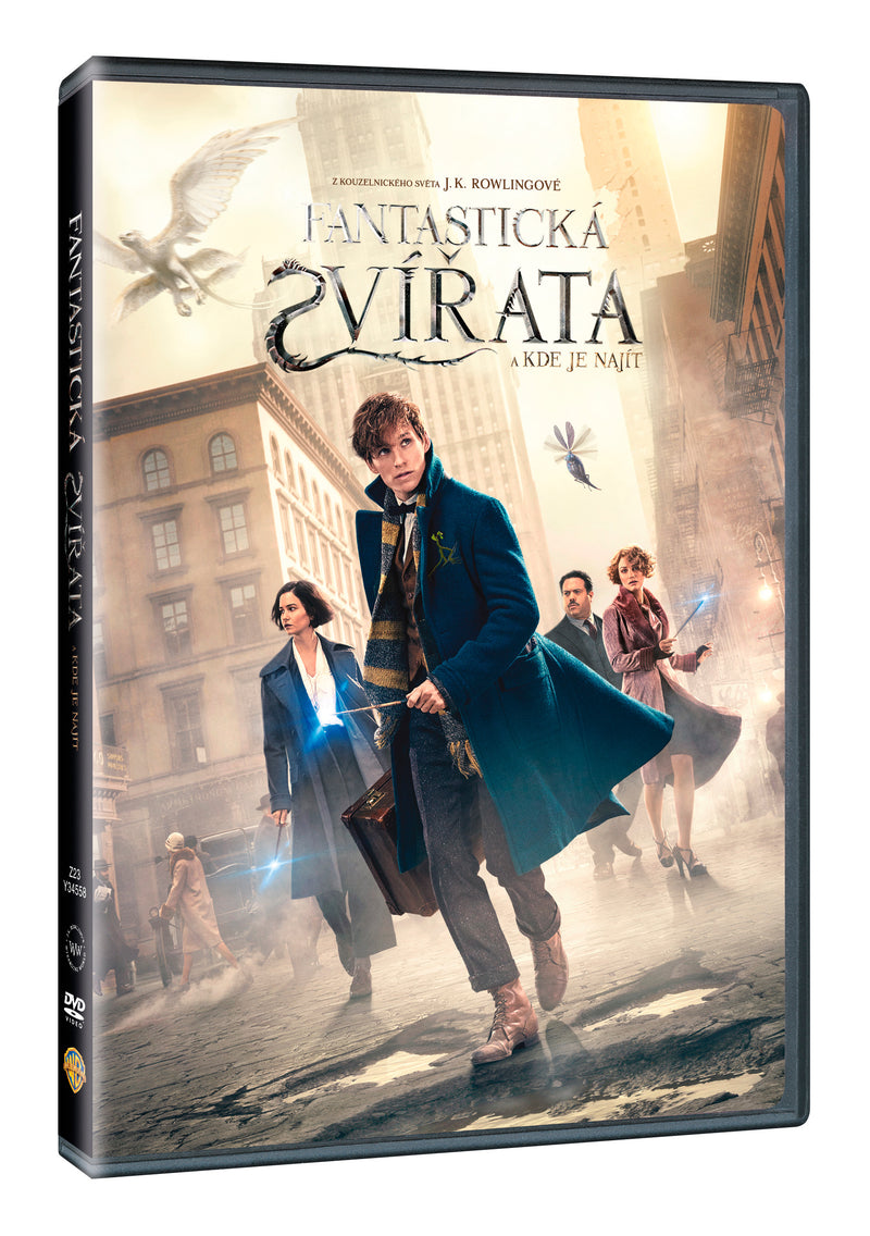Fantasticka zvirata a kde je najit DVD / Fantastic Beasts and where to find them