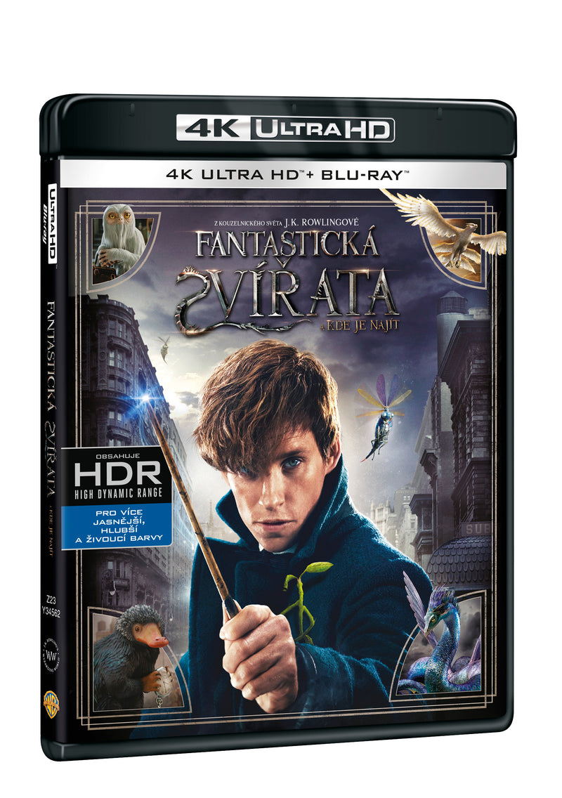 Fantasticka zvirata a kde je najit 2BD (UHD+BD) / Fantastic Beasts and where to find them - Czech version