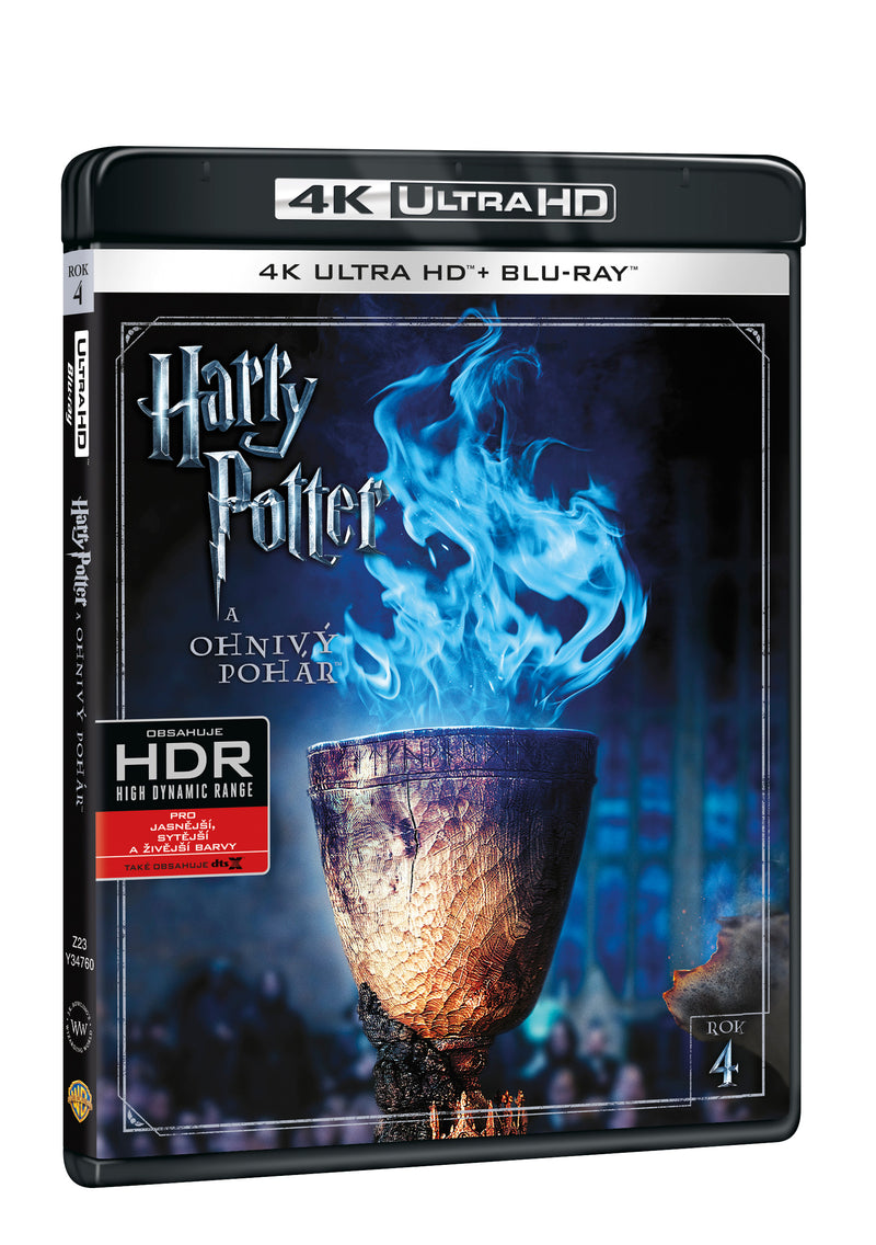 Harry Potter a Ohnivy pohar 2BD (UHD+BD) / Harry Potter and the Goblet of Fire - Czech version
